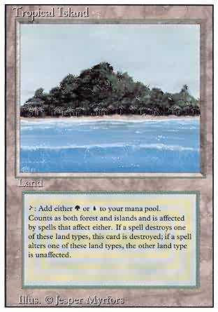 Tropical Island - Revised