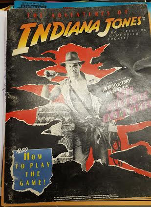 The Adventures of Indiana Jones: the Ikons of Ikammanen - Used