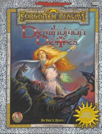 Dungeons and Dragons 2nd ed: Forgotten Realms: Demihuman Deities