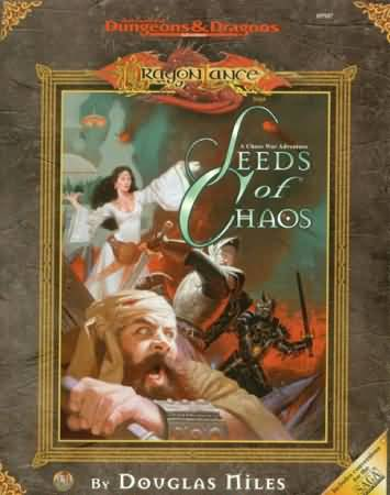 Dungeons and Dragons 2nd ed: DragonLance: Seeds of Chaos - Used
