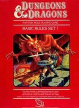 Dungeons and Dragons Basic: Set 1: Basic Rules Box Set: 1011 - Used