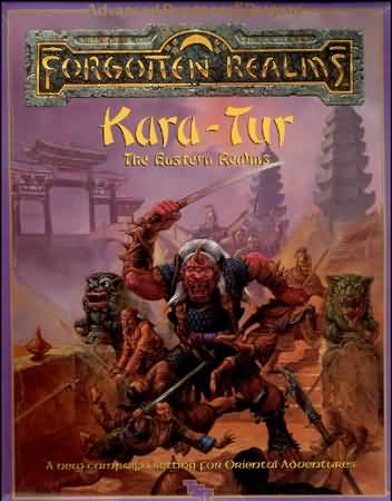 Dungeons and Dragons 1st ed: Forgotten Realms: Kara-Tur the Eastern Realms - Used