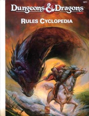 Dungeons and Dragons 2nd ed: Rules Cyclopedia - Used