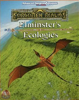 Dungeons and Dragons 2nd ed: Forgotten Realms: Elminsters Ecologies