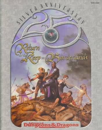 Dungeons and Dragons 2nd ed: Return to the Keep on the Borderlands - Used