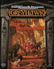 Dungeons and Dragons 2nd ed: Greyhawk: The Scarlet Brotherhood - Used
