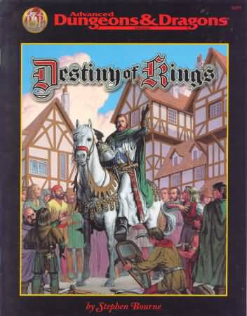 Dungeons and Dragons 2nd ed: Destiny of Rings - Used