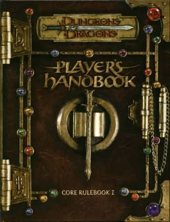 Dungeons and Dragons 3rd ed: Players Handbook: Core Rulebook I - Used