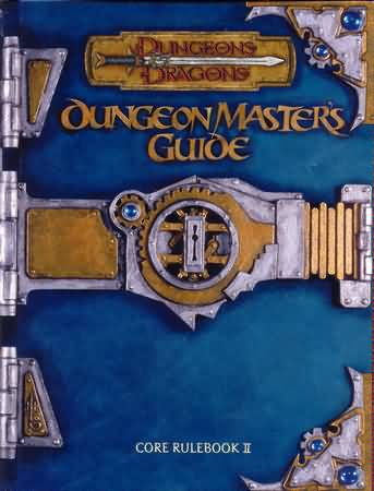 Dungeons and Dragons 3rd ed: Dungeon Masters Guide - Used