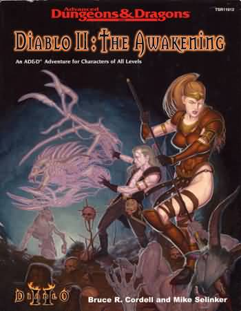 Dungeons and Dragons 3.5 ed: Diablo II: the Awakening - USED
