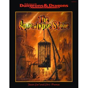 Dungeons and Dragons 2nd ed: the Apocalypse Stone - Used