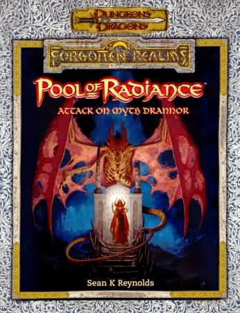 Dungeons and Dragons 3rd ed: Forgotton Realms: Pool of Radiance: Attack on Myth Drannor - used