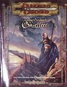 Dungeons and Dragons 3rd ed: Living Greyhawk Gazetteer - Used