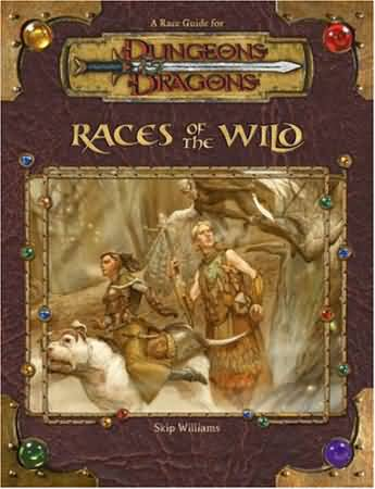 Dungeons and Dragons 3.5 ed: Races of the Wild - Used