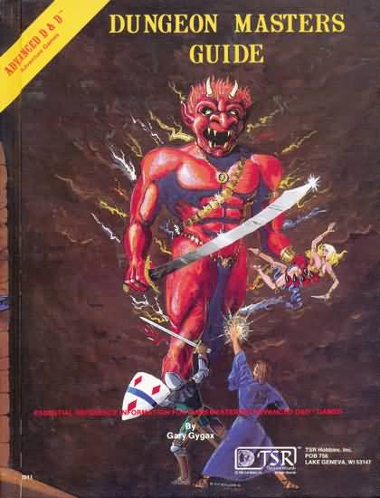 Dungeons and Dragons 1st ed: Dungeon Masters Guide - Used