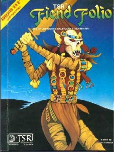 Dungeons and Dragons 1st ed: Fiend Folio HC - Used