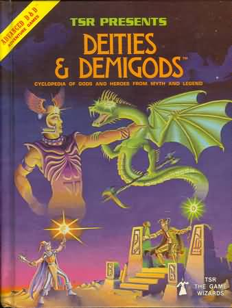 Dungeons and Dragons 1st ed: Deities and Demigods - Used