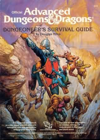 Dungeons and Dragons 1st ed: Dungeoneers Survival Guide - Used