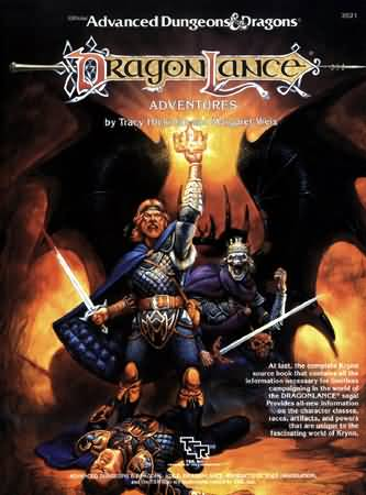 Dungeons and Dragons 1st ed: DragonLance: Adventures - Used