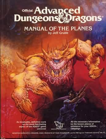 Dungeons and Dragons 1st ed: Manual of the Planes - Used