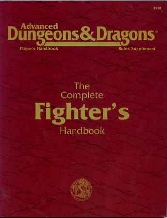 Dungeons and Dragons 2nd ed: The Complete Fighters Handbook - Used