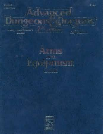 Dungeons and Dragons 2nd ed: Arms and Equipment Guide - Used