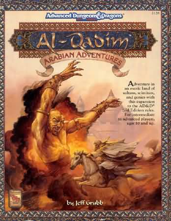Dungeons and Dragons 2nd ed: Al-Qadim: Arabian Adventures - Used