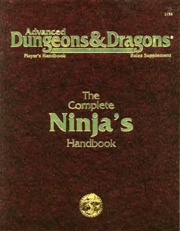 Dungeons and Dragons 2nd ed: Player Handbook: the Complete Ninjas Handbook - Used