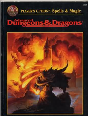 Dungeons and Dragons 2nd ed: Players Option: Spells and Magic