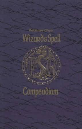 Dungeons and Dragons 2nd ed: Volume One: Wizards Spell Compendium - Used