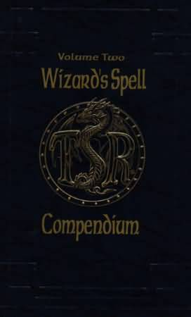 Dungeons and Dragons 2nd ed: Volume Two: Wizards Spell Compendium - Used