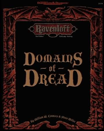 Dungeons and Dragons 2nd ed: Ravenloft: Domains of Dread - Used