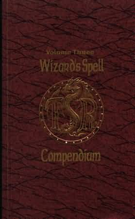 Dungeons and Dragons 2nd ed: Volume Three: Wizards Spell Compendium - Used