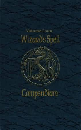 Dungeons and Dragons 2nd ed: Volume Four: Wizards Spell Compendium - Used
