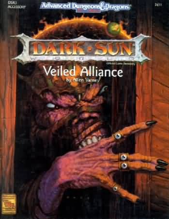 Dungeons and Dragons 2nd ed: Dark Sun: Veiled Alliance - Used