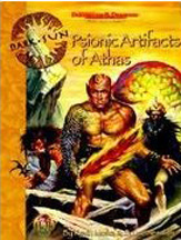 Dungeons and Dragons 2nd ed: Dark Sun: Psionic Artifacts of Athas - Used