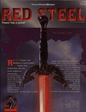 Dungeons and Dragons 2nd ed: Red Steel Box Set