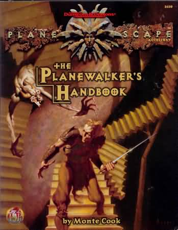 Dungeons and Dragons 2nd ed: Planescape: the Planewalkers Handbook - Used