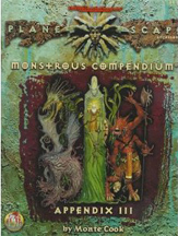 Dungeons and Dragons 2nd ed: Plane Scape: Monstrous Compendium: Appendix III: 2635