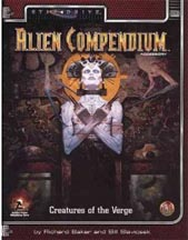 Alternity: Star Drive: Alien Compendium: Creatures of the Verge - Used