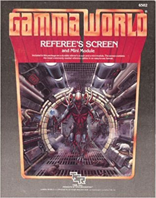 Gamma World: Referees Screen and Mini Module (6502) - Used