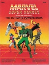 Marvel Super Heroes: The Ultimate Powers Book - Used