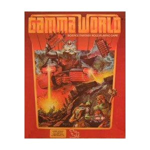 Gamma World 2nd ed Box Set: Science Fantasy Role-Playing Game - Used