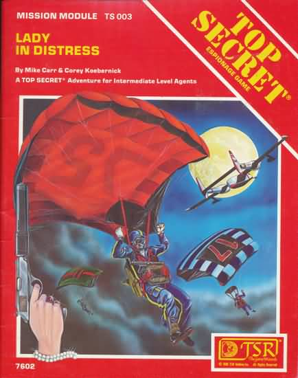 Top Secret: Lady in Distress Mission Module: 7602 - Used