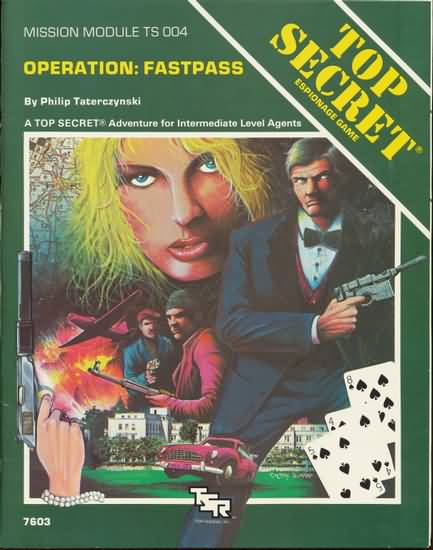 Top Secret: Operation: Fastpass: Mission Module - Used