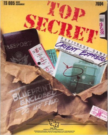 Top Secret Espionage Game: Operation Orient Express - Used