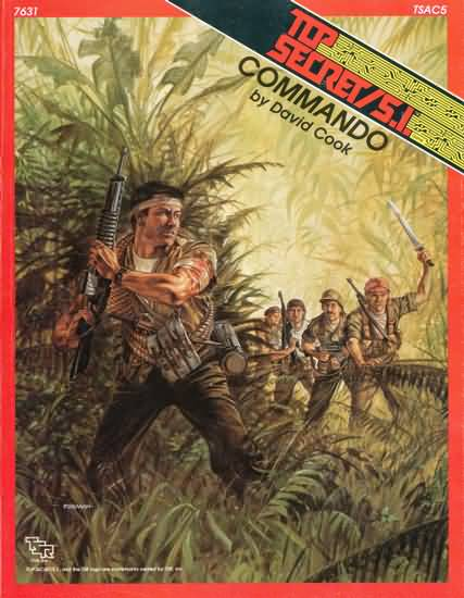 Top Secret/S.I.: Commando Role Playing - USED