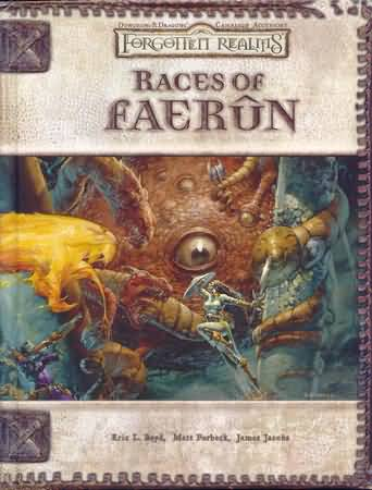 Dungeons and Dragons 3.5 ed: Forgotten Realms: Races of Faerun - Used