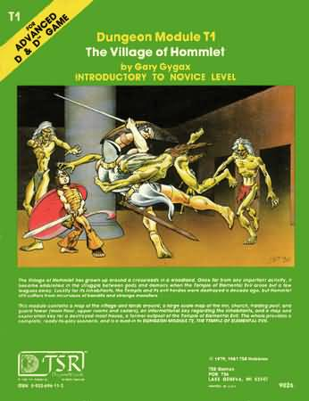 Dungeons and Dragons 1st ed: The Village of Hommlet: Color - Used