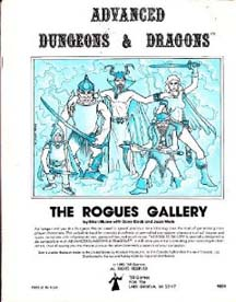 Dungeons and Dragons 1st ed: The Rogues Gallery - Used